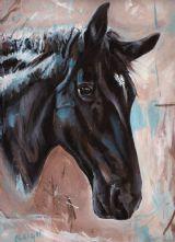 Horse Portrait Paintings